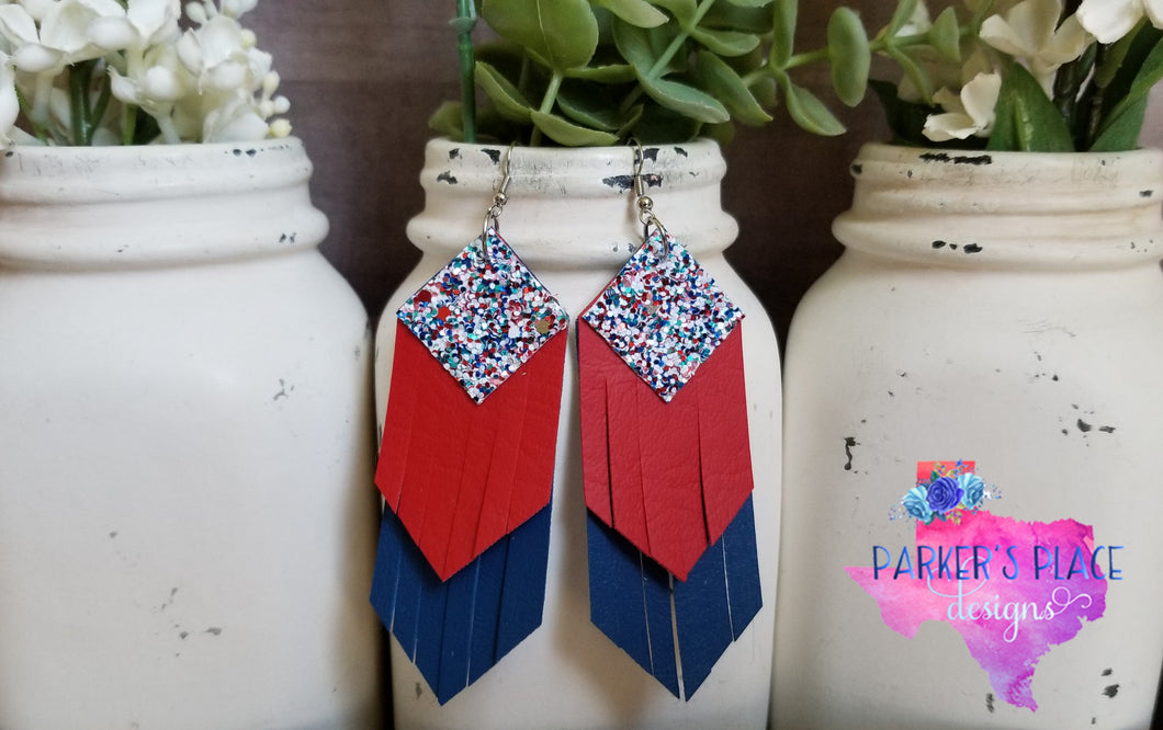 Red, White, Blue Fringe