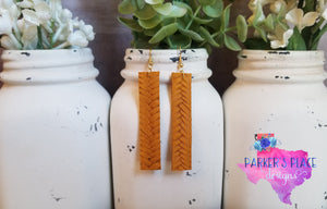 Mustard Braided Bar
