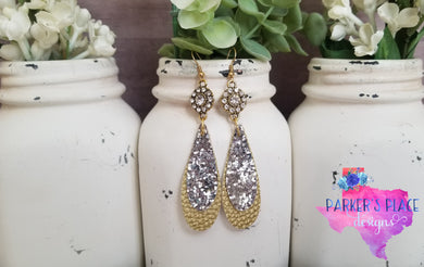Silver and Gold Dangles
