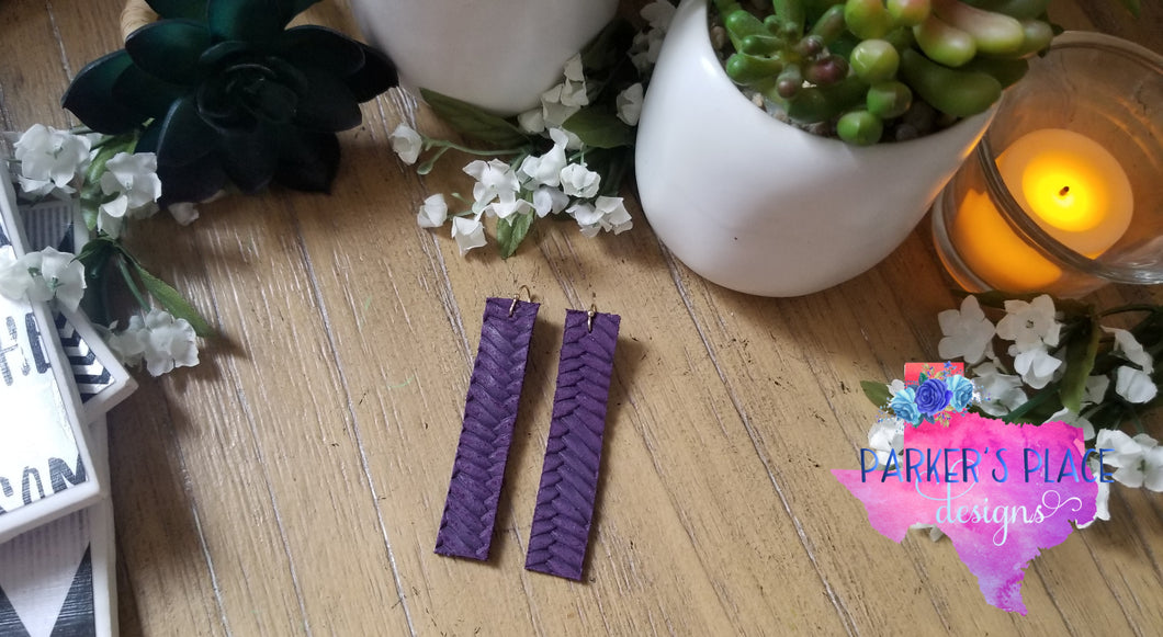 Purple Braided Bar