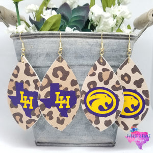 Liberty Hill Leopard Earrings