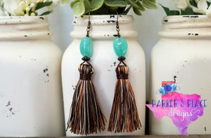 Brown Thread Tassels