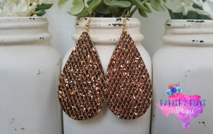 Copper Teardrops