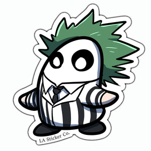 "Bodo ""Beetlejuice"" Costume Sticker"