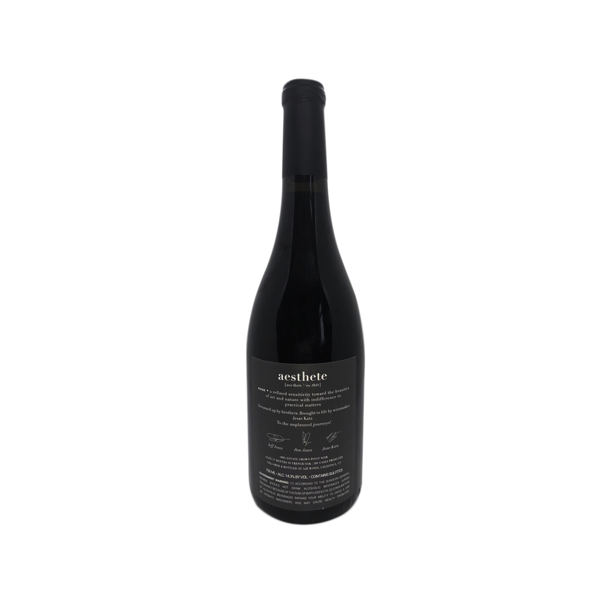 2018 Pinot Noir (Sold Out)