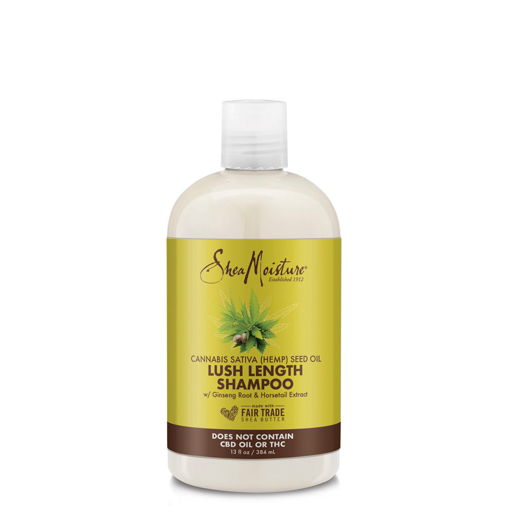 Sheamoisture CANNABIS SATIVA (HEMP) SEED OIL LUSH LENGTH SHAMPOO