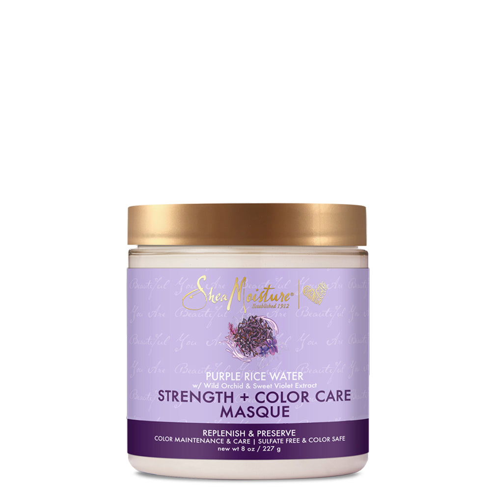 Sheamoisture PURPLE RICE WATER STRENGTH & COLOUR CARE MASQUE