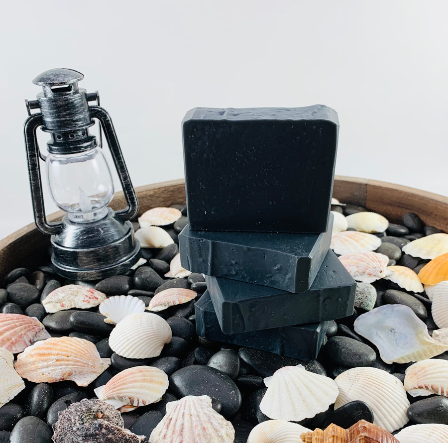 TEA TREE  ACTIVATED BLACK CHARCOAL SOAP 4.5 OZ
