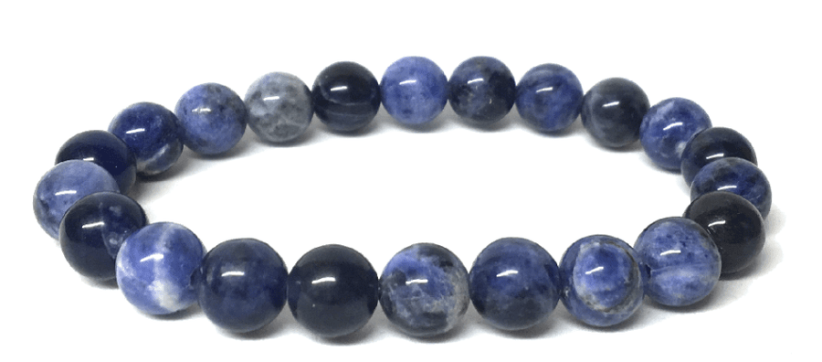 Rid Anxiety - Sodalite Gemstone Bracelet