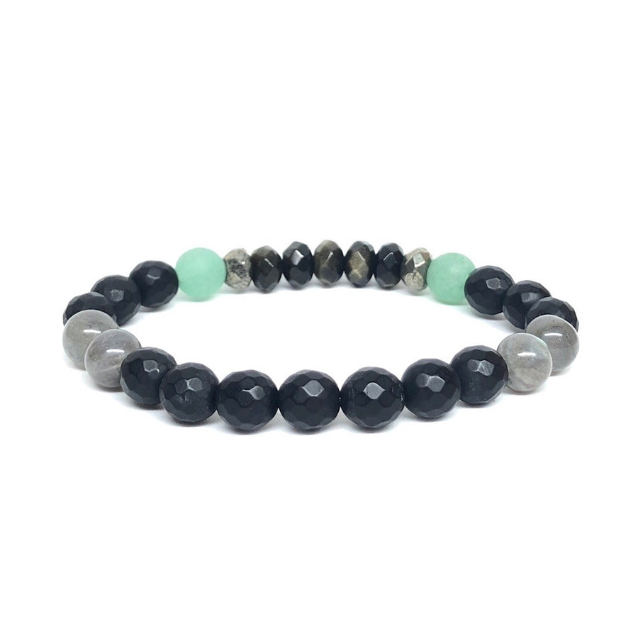 Grounded and Grateful Crystal Healing Gemstone Bracelet