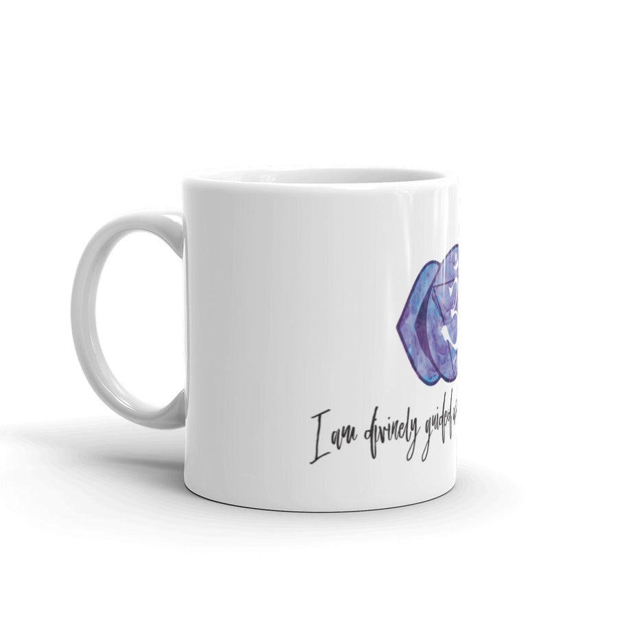 Third Eye Chakra - I am divinely guided and trust my intuition - Affirmation Mug