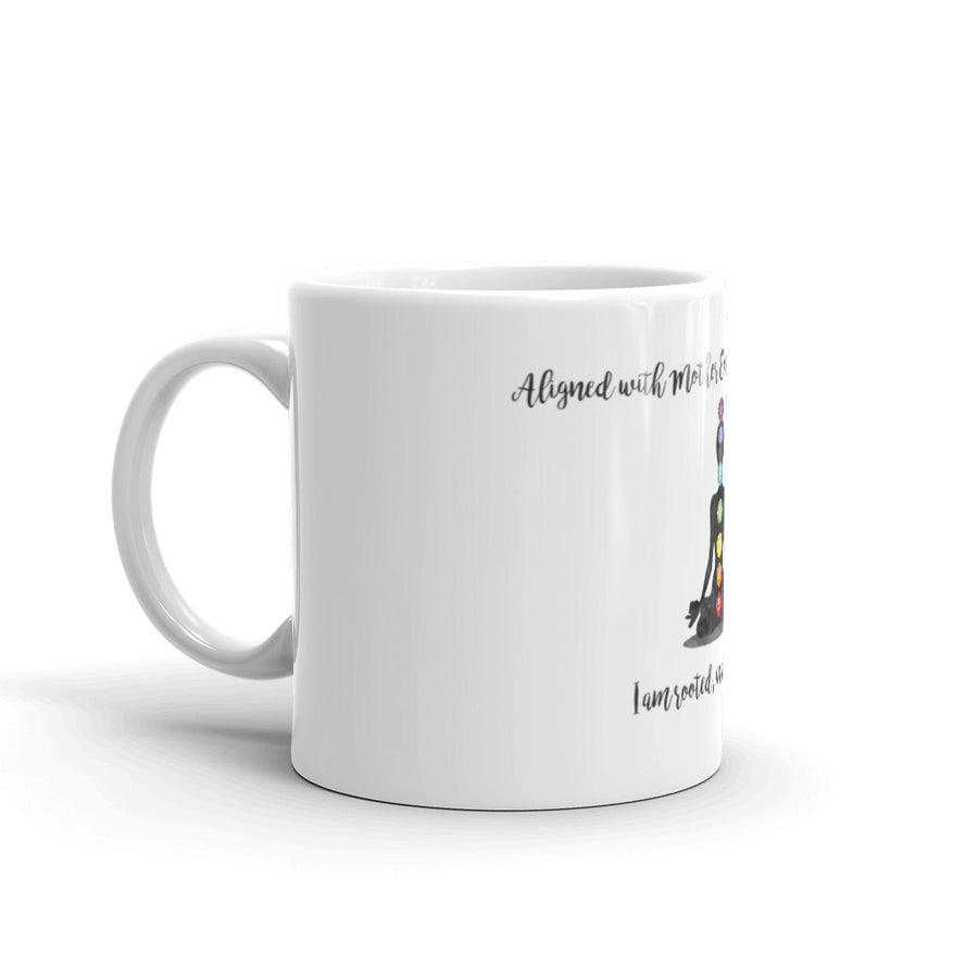 I am rooted and I can fly - Affirmation Mug