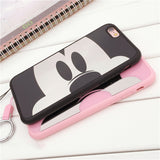 Mickey and Minnie Mouse Reflective Case