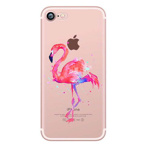 Painted Flamingo Case