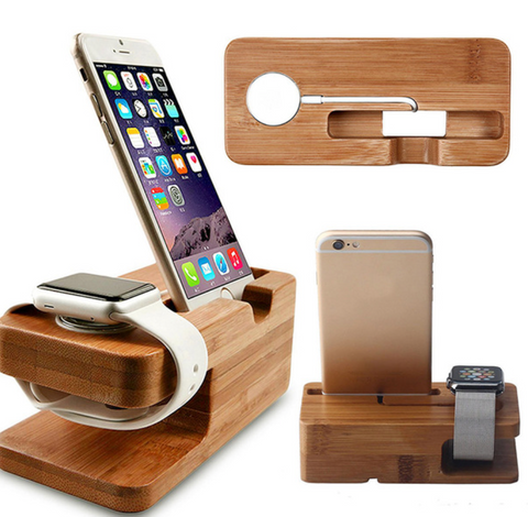 Bamboo Charger Station