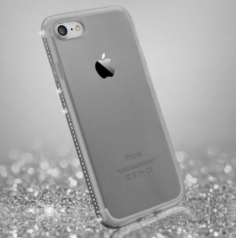Glitter Border iPhone Case