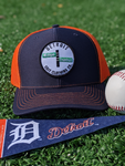 Detroit - Michigan & Trumbull - Mesh Hat