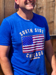 South Side Patriot Crew Neck T-Shirt