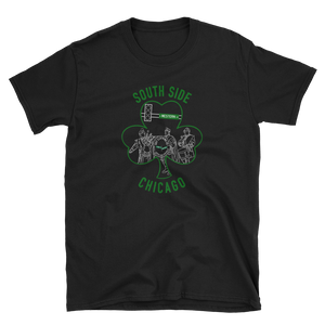 South Side Shamrock (Black, Grey, or White)