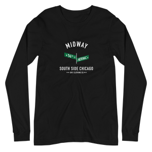 Midway - 56th & Merrimac - Unisex Long Sleeve T-Shirt