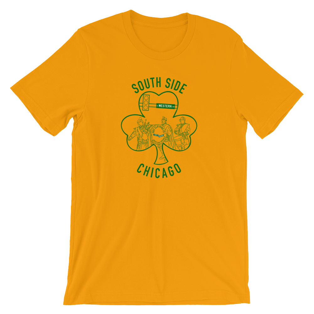 South Side Shamrock (Gold)
