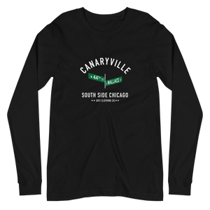 Canaryville - 44th & Wallace - Unisex Long Sleeve T-Shirt