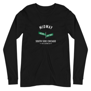 Midway - Archer & Oak Park - Unisex Long Sleeve T-Shirt