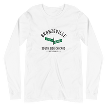 Bronzeville - 35th & Michigan - Unisex Long Sleeve T-Shirt