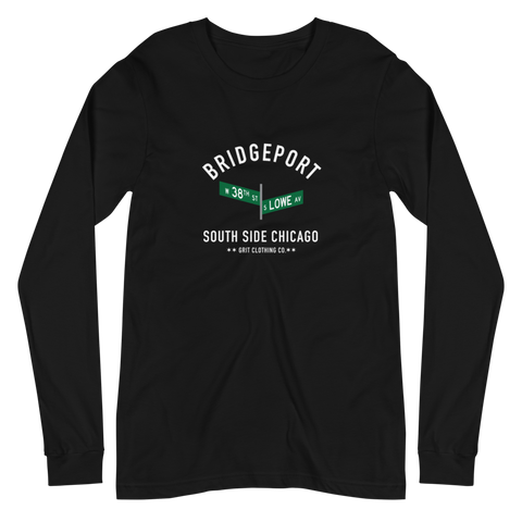 Bridgeport - 38th & Lowe - Unisex Long Sleeve T-Shirt
