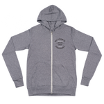 Authentic - Hardscrabble - Lightweight Unisex Zip Hoodie