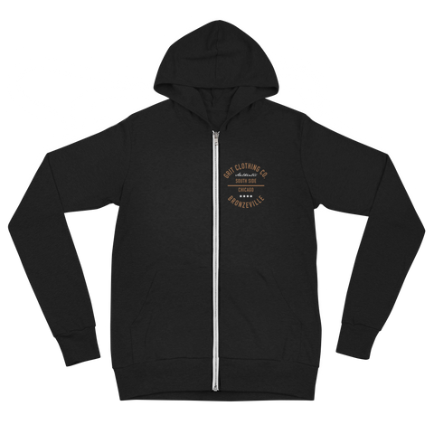 Authentic - Bronzeville - Lightweight Unisex Zip Hoodie
