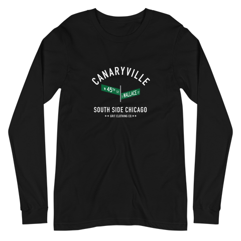 Canaryville - 45th & Wallace - Unisex Long Sleeve T-Shirt