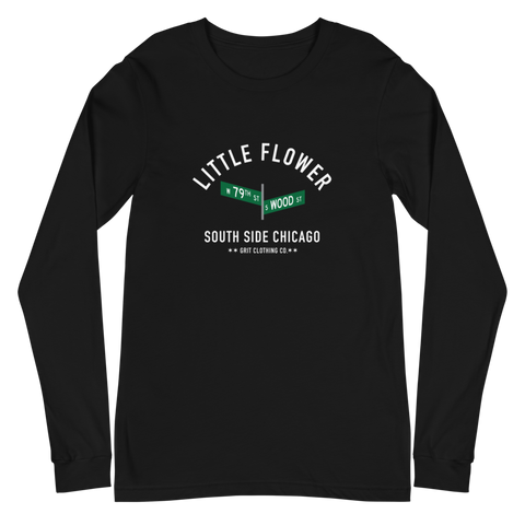 Little Flower - 79th & Wood - Unisex Long Sleeve T-Shirt
