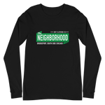 """The Neighborhood"" Bridgeport - Unisex Long Sleeve T-Shirt"