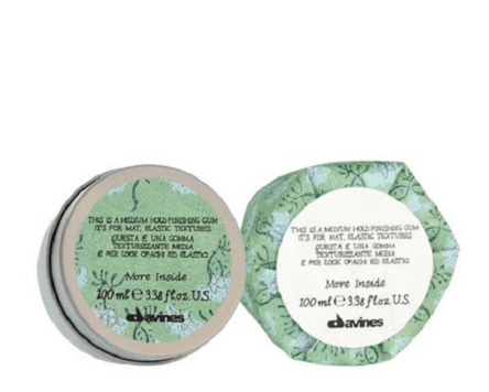 Davines More Inside This Is A Medium Hold Finishing Gum 75ml - Salon Style