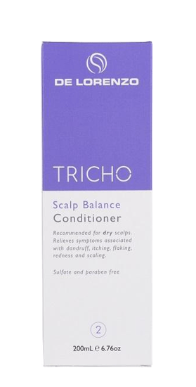 DeLorenzo Tricho Scalp Balance Conditioner 200ml - LIMITED TIME ONLY - Salon Style