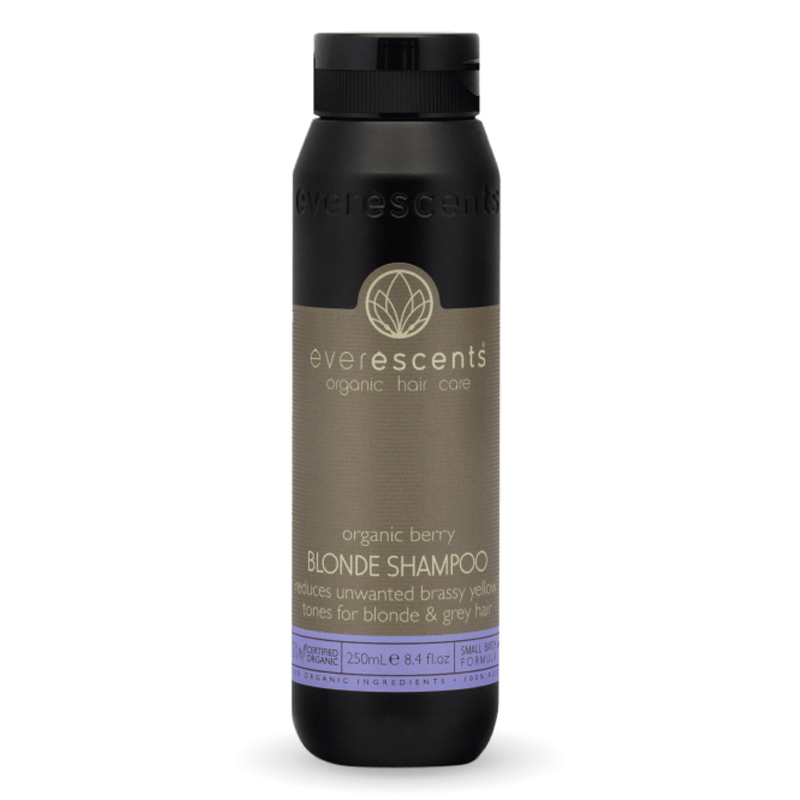 EverEscents Organic Berry Blonde Shampoo 250ml - Salon Style