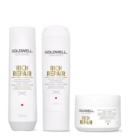 Goldwell DualSenses Rich Repair Trio Pack - Salon Style