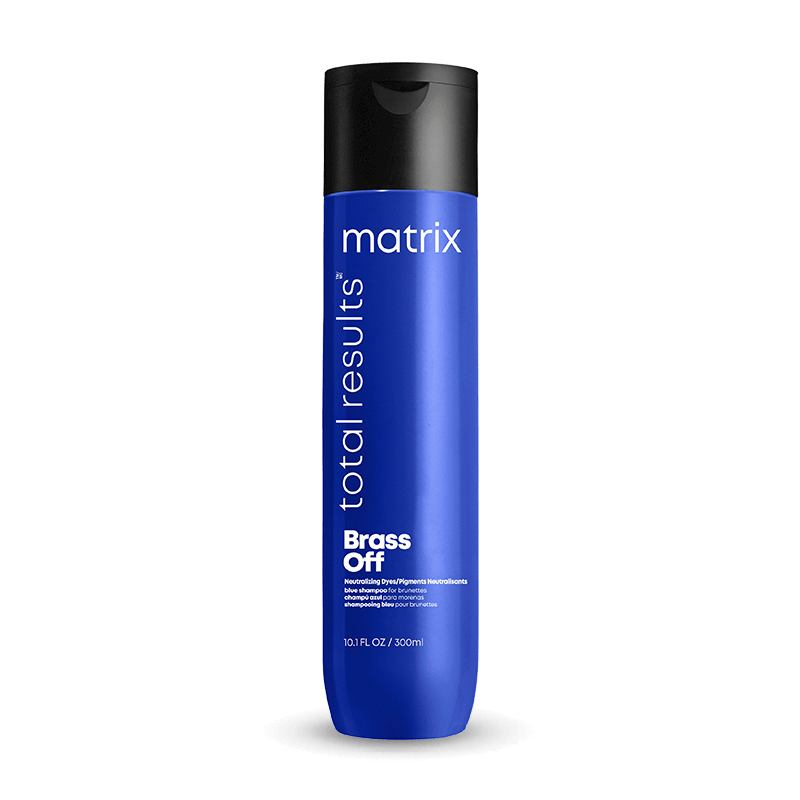 Matrix Total Results Brass Off Shampoo 300ml - Salon Style