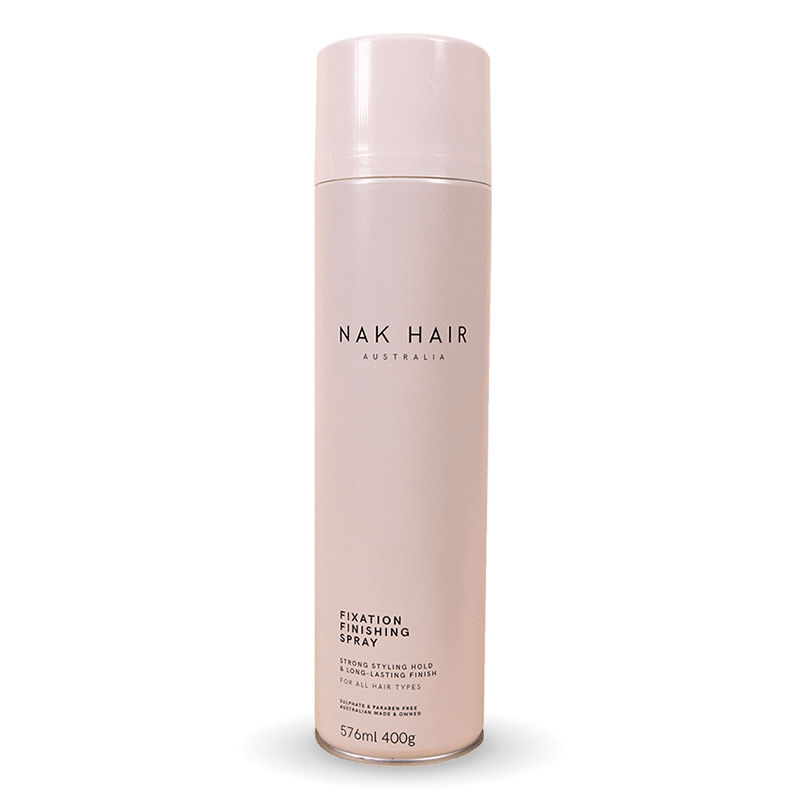 NAK Fixation Finishing Spray 400g - Salon Style