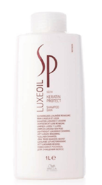 Wella SP System Professional Luxe Oil Keratin Protect Shampoo 1 Litre