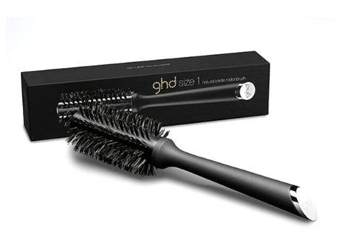 ghd Natural Bristle Radial Brush Size 1 - Salon Style