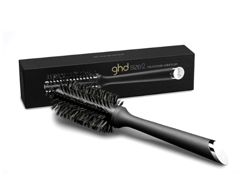 ghd Natural Bristle Radial Brush Size 2 - Salon Style