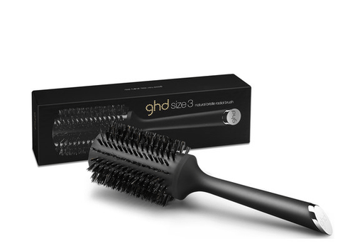ghd Natural Bristle Radial Brush Size 3 - Salon Style