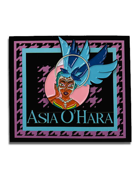 Asia O'Hara Feathered Goddess Pin