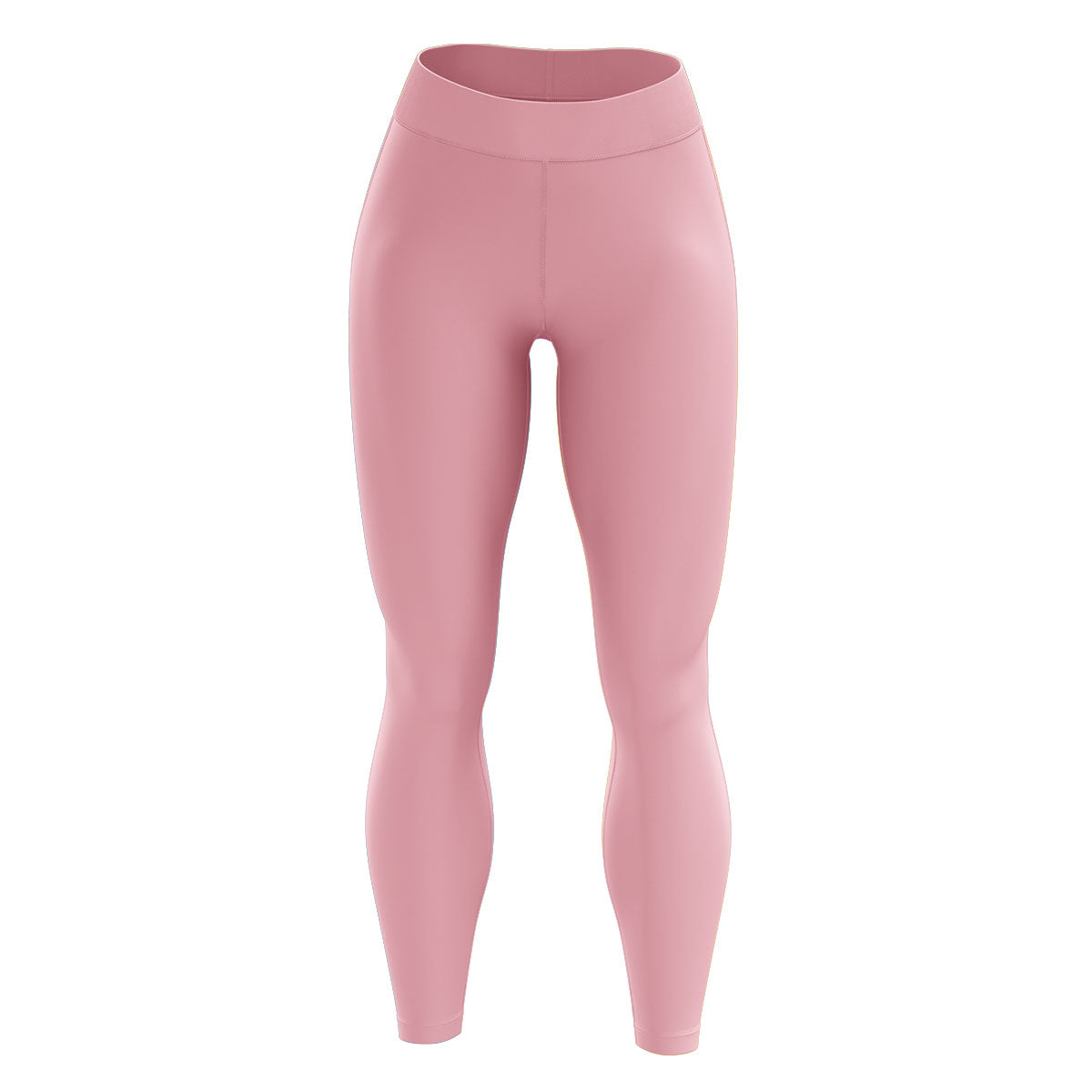 Light Pink High Waisted Yoga Leggings