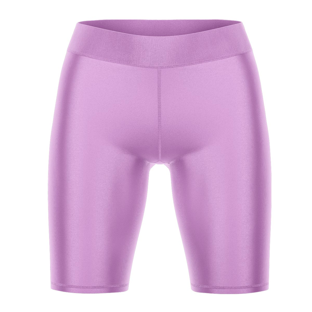 Light Orchid Yoga Shorts