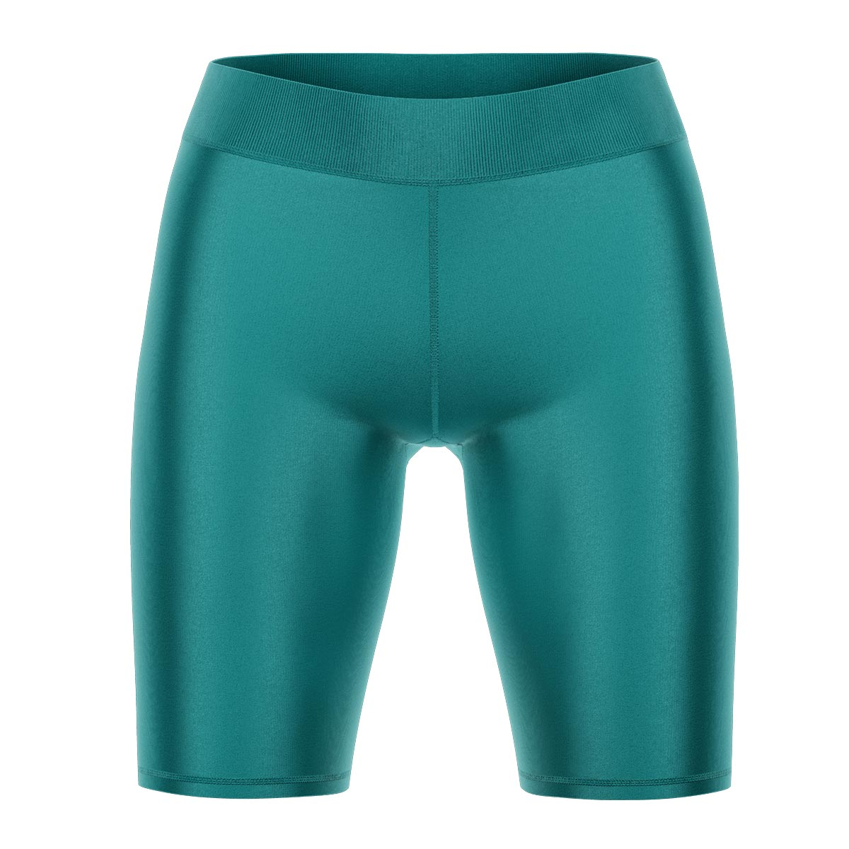 Teal Yoga Shorts