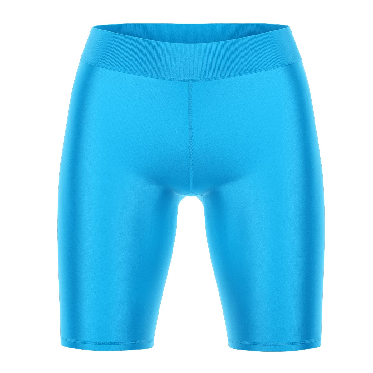 BRIGHT BLUE Yoga Shorts