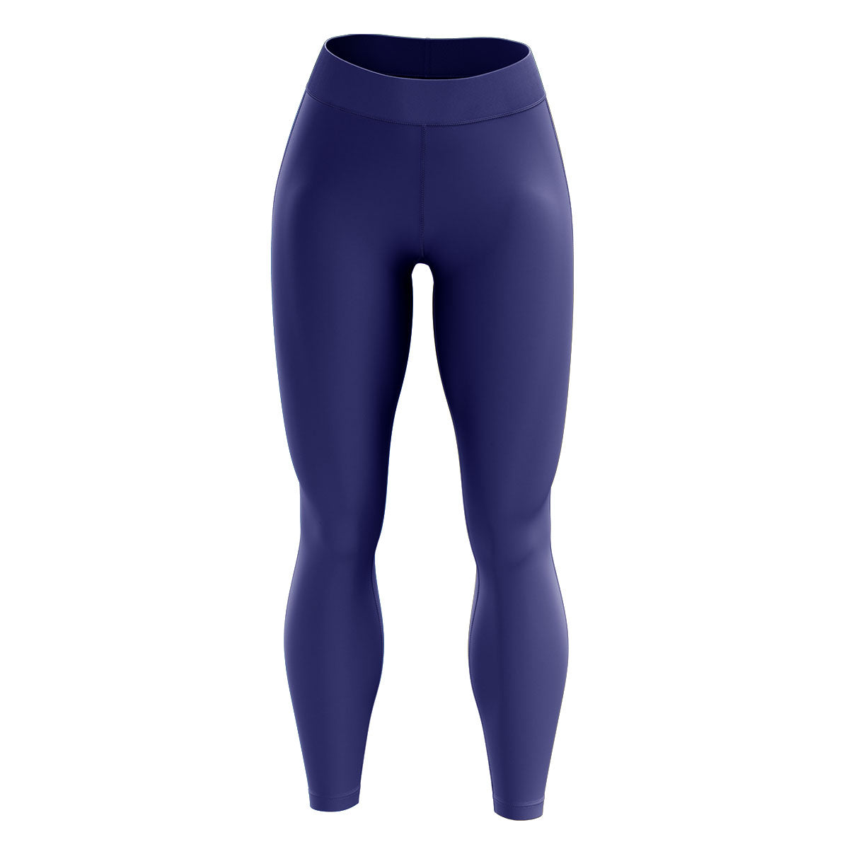Dark Blue High Waisted Yoga Leggings